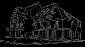 Hauszeichnung Villa Eichenau