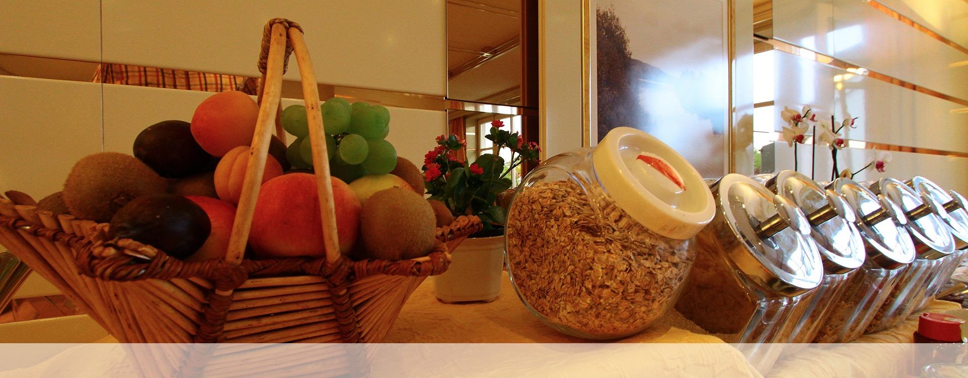 Gesundes Frühstück im Hotel in Eichenau