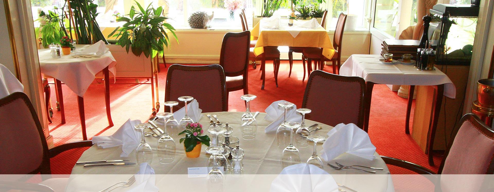 Hotel Restaurant mit schönem Ambiente in Eichenau