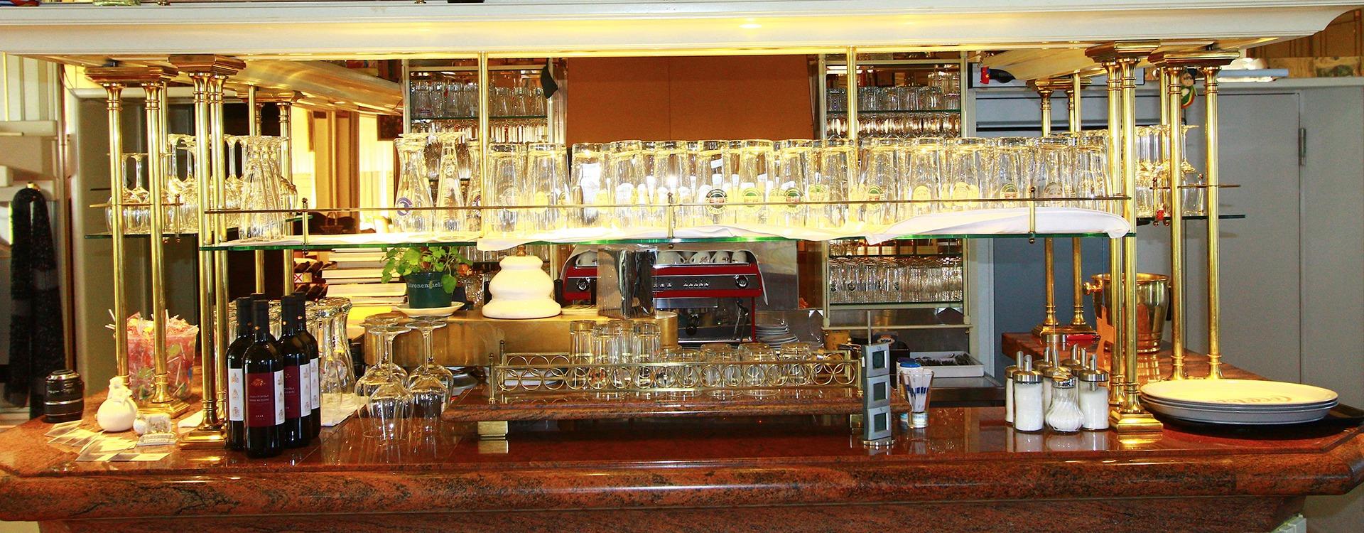 Hotel Restaurant mit Bar mit schönem Ambiente in Eichenau
